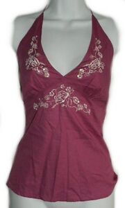 ** NEW **Pink Halter Top - Embroidered and Beaded - SMALL Gatineau Ottawa / Gatineau Area image 1