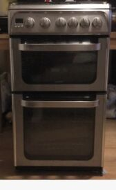 Gas oven cooker with oven grill kitchen appliance used but in good condition