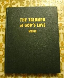 THE TRIUMPH OF GOD's LOVE, Hard Cover, green edition