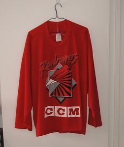 Chandail Roller Hockey CCM Roadrunners Montreal Vintage Jersey