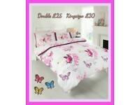 Bedding double £25.00