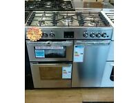 BELLING 90CM WIDE FULL​ GAS RANGE COOKER