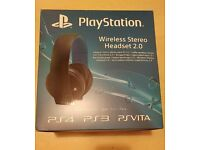 PS4 Official Wireless Headset