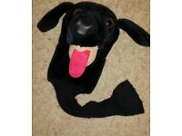 Novelty Headcover Black Labrador driver/3 wood...great xmas pressie cost £30