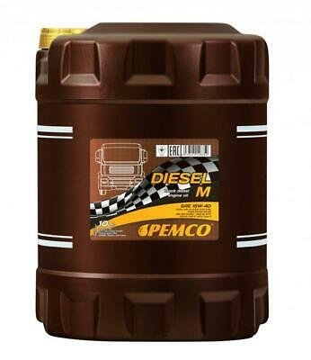 Aceite de Motor 15W40 Camion Autobus Diesel SHPD CH-4/SL E3 Lubricante Pemco...