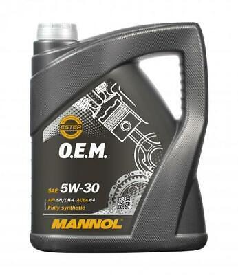 Aceite de motor 5w30 Lubricante para coches OEM RENAULT NISSAN MANNOL 5L