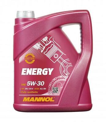 Aceite de motor 5w30 Ester Lubricante para coches MANNOL Energy 5L
