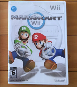 Mario Kart Wii et Volant