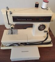 Kenmore Sewing Machine with Carrying Case