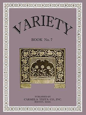 Carmela Testa #7 c.1930 Instruction for Italian Hemstitch & Crochet & Knitting