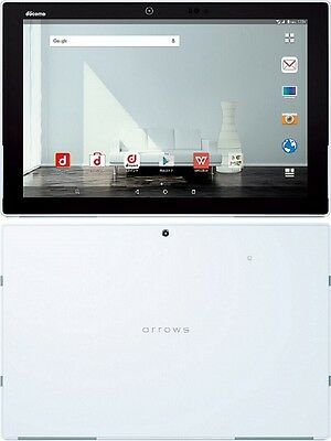 """FUJITSU F-04H ARROWS TAB 10.5"""" IRIS ANDROID WIFI TABLET MADE IN JAPAN WHITE NEW"""