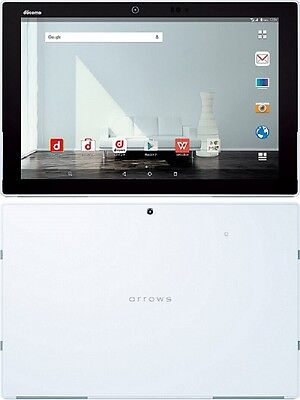 "FUJITSU F-04H ARROWS TAB 10.5"" IRIS ANDROID WIFI TABLET MADE IN JAPAN WHITE NEW"