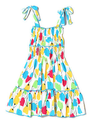 NWT LELE for Kids Girls Summer Dress Colorful Twirly Casual Sundress Size 2,4,6 - Casual Dress For Girls
