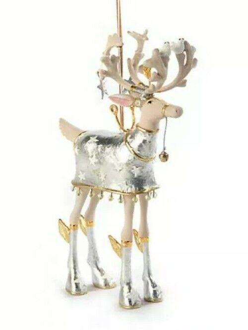 New Patience Brewster Moonbeam Comet Reindeer LARGE Ornament Dash Away