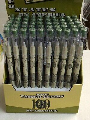 100 Money Non Shapen Pencils New No Box Wholesale Only 15 Cents Each