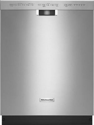 """KitchenAid KDFE104DSS 24"""" Built-In Dishwasher with Stainless Steel Tub"""