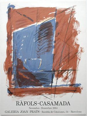 Alberto Rafols Casamada Galeria Joan Prats Poster Kunstdruck Bild 75x56cm