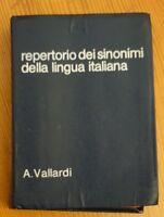 Repertorio Dei Sinonimi Della Lingua Italiana -a. Vallardi- 1982 -  - ebay.it