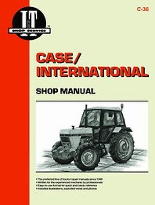 It-c-36 It Shop Manual For Case 1190 1194 1290 1390 1394 1490 Tractors