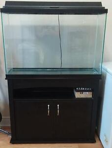 45 Gallon Fish Tank, Stand, and all Required Equipment