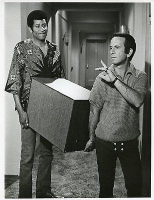 Don Adams Rupert Crosse Moving The Partners Original 1971 Nbc Tv Photo