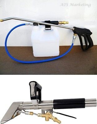 Carpet Cleaning Stair Tool Inline Sprayer Combo