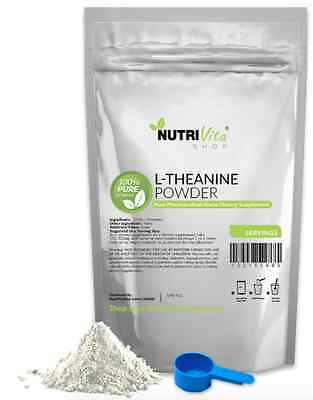 1000g (2.2lbs) NEW L-THEANINE 100% PURE POWDER USP GRADE