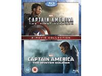 Captain America 2 Movie Blu-ray box set - New and Sealed