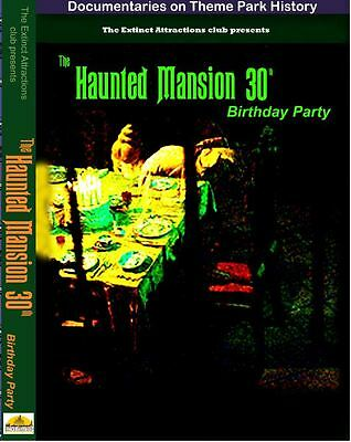 EXTINCT ATTRACTIONS CLUB HAUNTED MANSION 30TH BIRTHDAY CELEBRATION