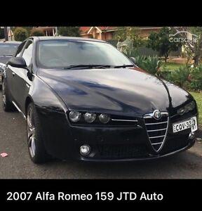 2007 Alfa Romeo 159 2.4L Turbo Lugarno Hurstville Area Preview