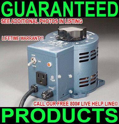 New Usa Staco 3pn1010 0-120140v Variable Ac 10-amp Variac Lifetime Warranty