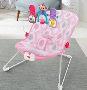 Brand New Fisher Price Baby Bouncer - Pink