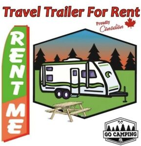 Tent Trailers or Travel Trailers For Rent