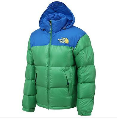 TNF THE NORTH FACE NUPTSE 700 FILL GOOSE DOWN JACKET SAP GREEN 95(M) coat puffer