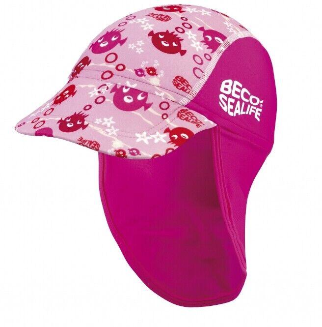 Beco Sealife Sonnenhut 46cm Größe 1 Hut Sonnenschutz für Kinder Kinderhut 5912