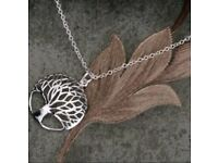 Tree of life bohdi tree necklace
