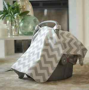 Chevron Carseat Canopy - Brand New in Bag