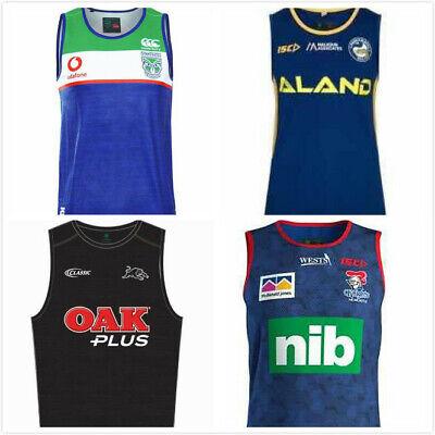 NEW 2019-2020 Zealand NRL/eels EELS/Jaguares/ Knight Vest Rugby Jersey S-3XL
