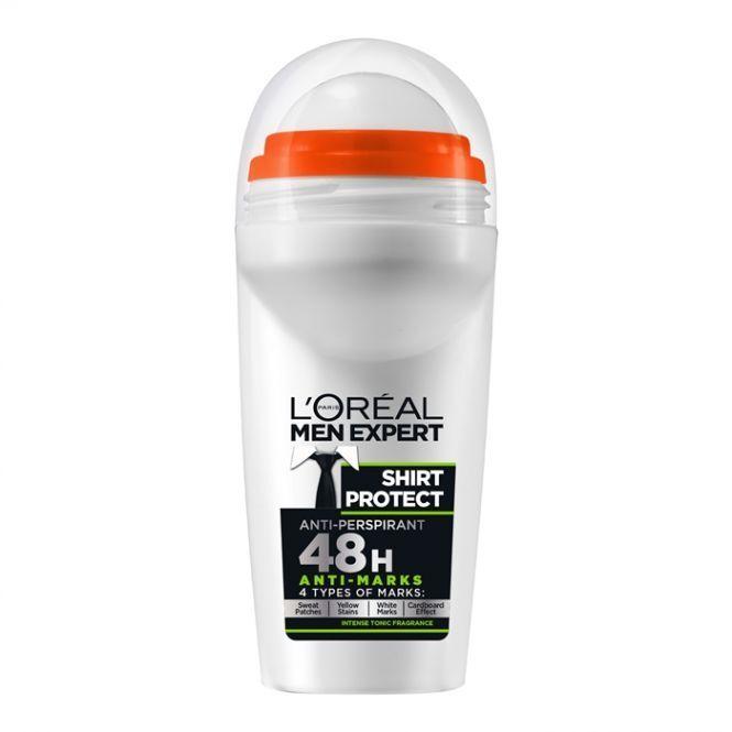 L 39 oreal loreal men expert shirt for Deodorant marks on shirt