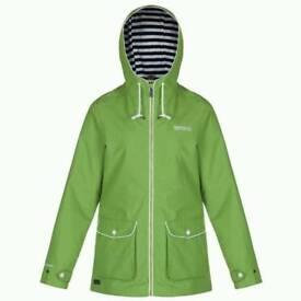 Regatta green ladies size 12 Raincoat