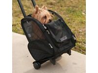 New dog carrier / backpack on wheels