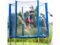 Plum Trampoline & Enclosure 6ft New In Box RRP 164.99 Only £60
