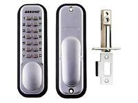 Hoppe Arrone Digital Push New Button Door Key Pad Lock AR/D-195MC