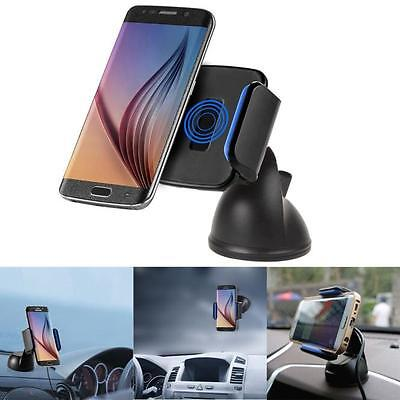 Qi Wireless Car Charger Transmitter Holder for Samsung Galaxy S7/S6/LG G5/HTC ET