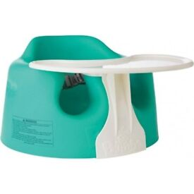 Bumbo Floor Seat and Play Tray Combo - Aqua. Pickup from Finchley. RRP 48 GBP!