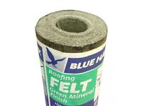 wanted please Green Roofing Felt similar to the one is the picture, and roof adhesive or similar