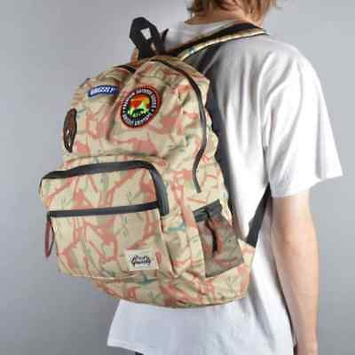 NEW RBCK-3 GRIZZLY GRIPTAPE SKATEBOARD OUTDOOR GOODS TAN SCHOOL BACKPACK