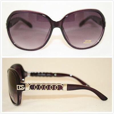 Wholesale Dozen Women Chain Plastic Fashion Sunglasses New Hot DG Eyewear 401 - Plastic Sunglasses Wholesale
