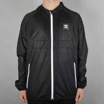 Adidas Skateboarding Climastorm Windbreaker Jacket - Black size L RRP £75