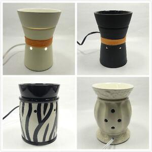 ceramic electric scent oil tart warmer burner diffuser fragrance lamp. Black Bedroom Furniture Sets. Home Design Ideas